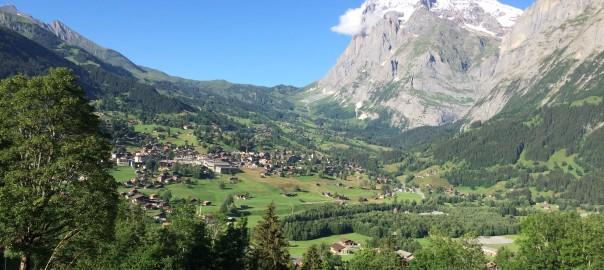 Looking towards Grindelwald